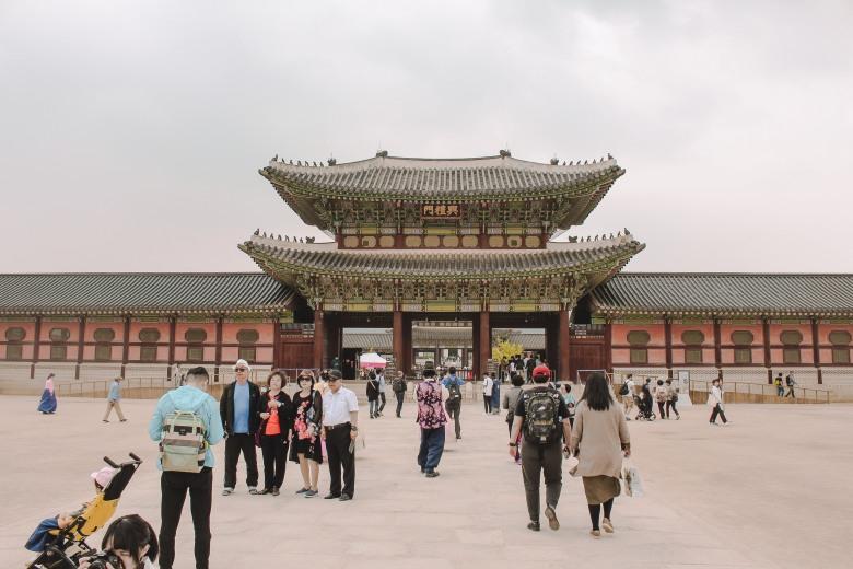 Gyeongbokgung bên trong