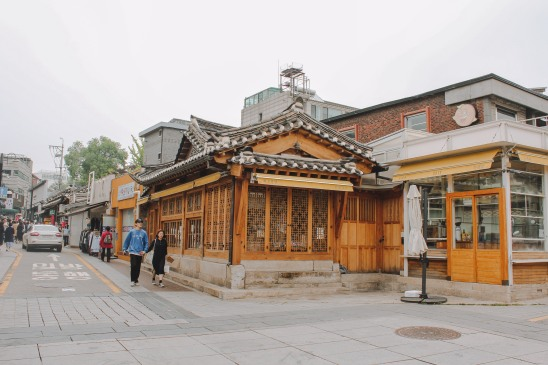 Gyeongbokgung khu phố cổ