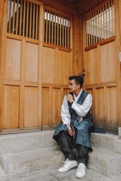 Gyeongbokgung Lý Thành Cơ gần khu phố cổ