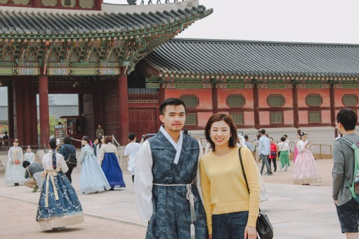 Gyeongbokgung Lý Thành Cơ và bạn