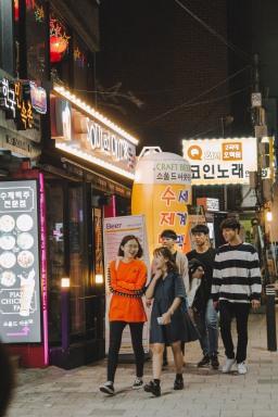 Hongdae nhộn nhịp