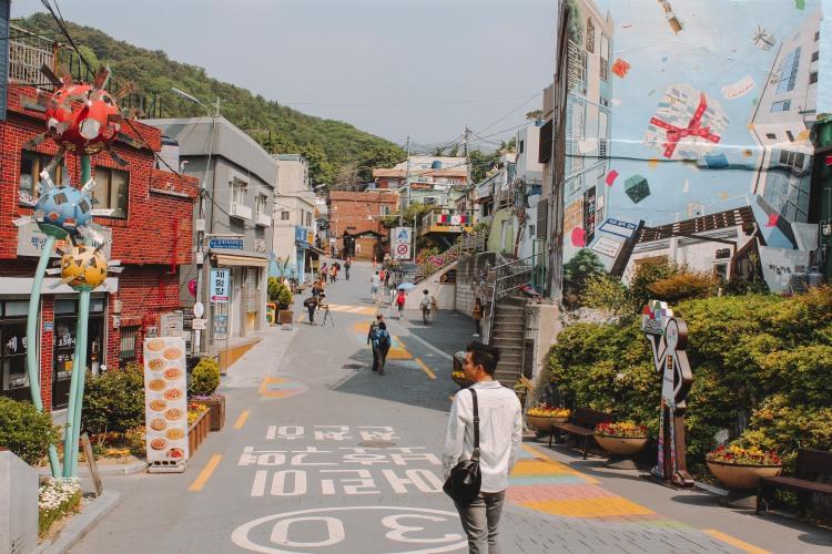 Lý Thành Cơ tại Gamcheon