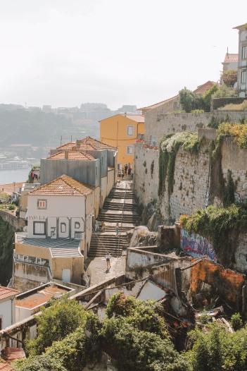 Những con dốc ở Porto