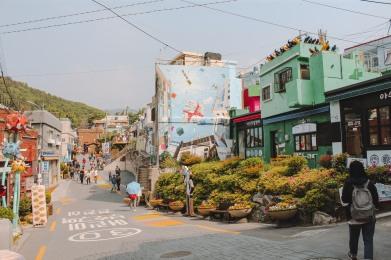 Phía đầu làng Gamcheon