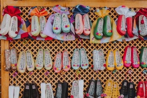 Quà lưu niệm tại làng Gamcheon