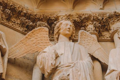Thiên thần mỉm cười ở Reims 3