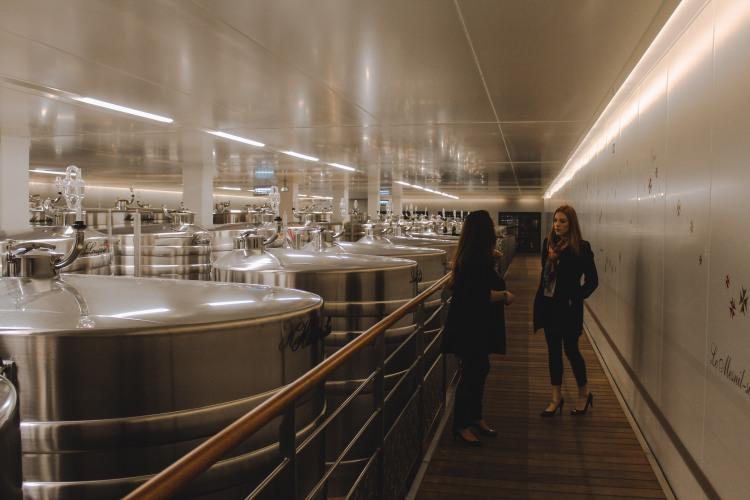 Xưởng ủ Champagne ở Lanson