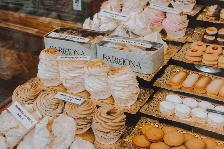 Bánh ở Barcelona