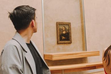 Mona Lisa Louvre Paris Venturology