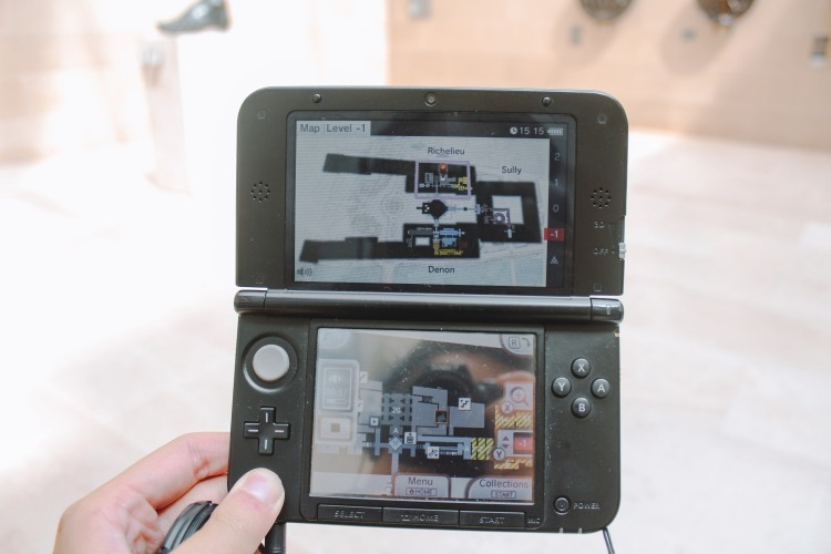 Nintendo 3DS Louvre Paris Venturology