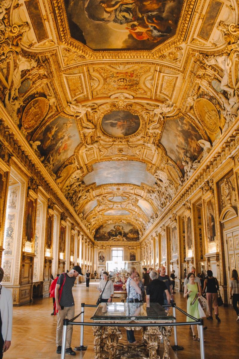 Phòng trưng bày Louvre Paris Venturology