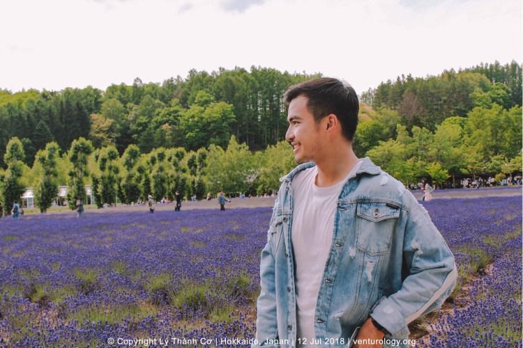 Lavender Farm Hokkaido Venturology 9 Lý Thành Cơ