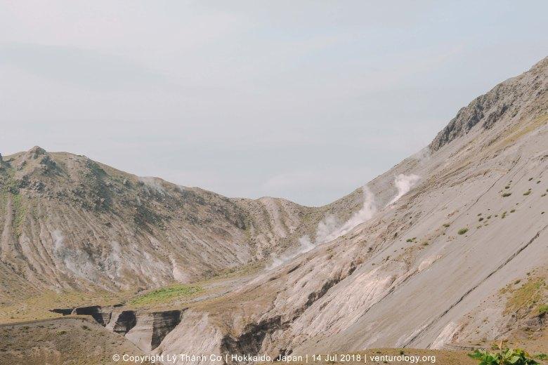 Núi Usu Hokkaido Venturology 1