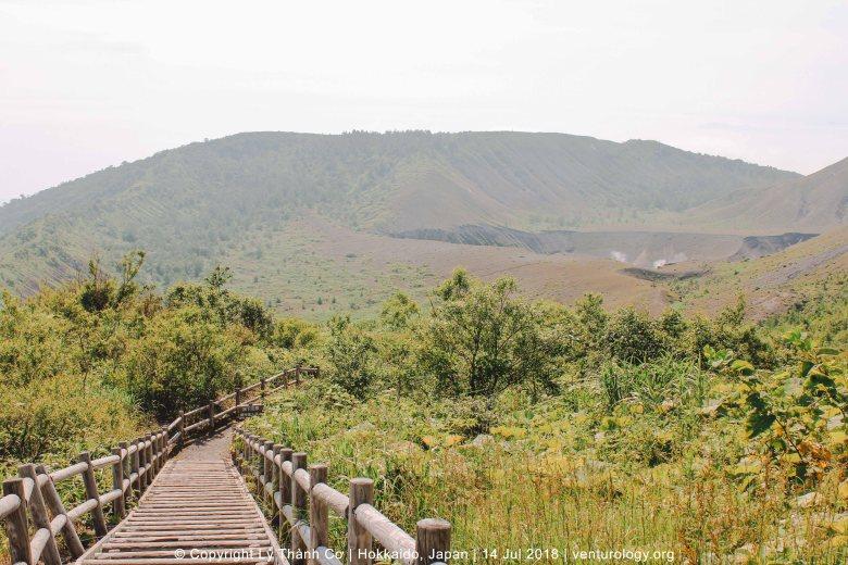 Núi Usu Hokkaido Venturology 5