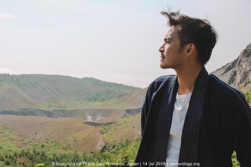 Núi Usu Hokkaido Venturology Lý Thành Cơ
