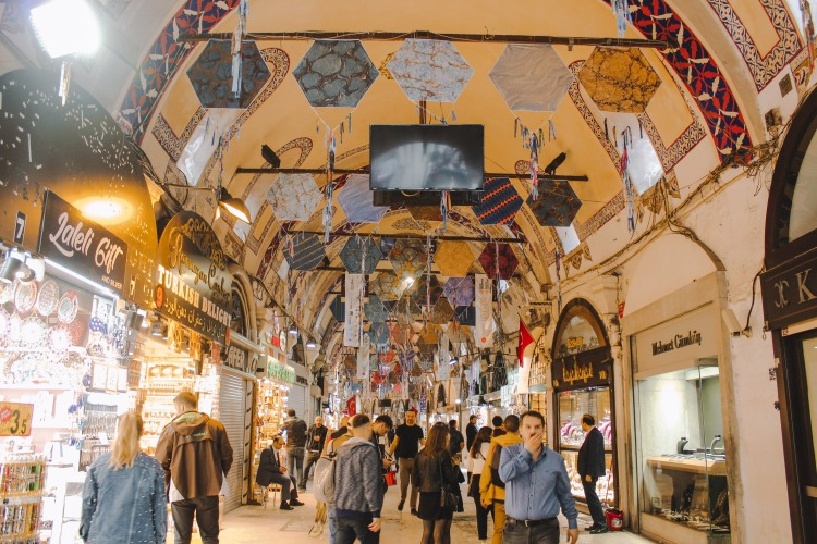 Grand Bazaar, Khu Chợ Nửa Thiên Niên Kỷ Ở Istanbul Lý Thành Cơ Venturology 1