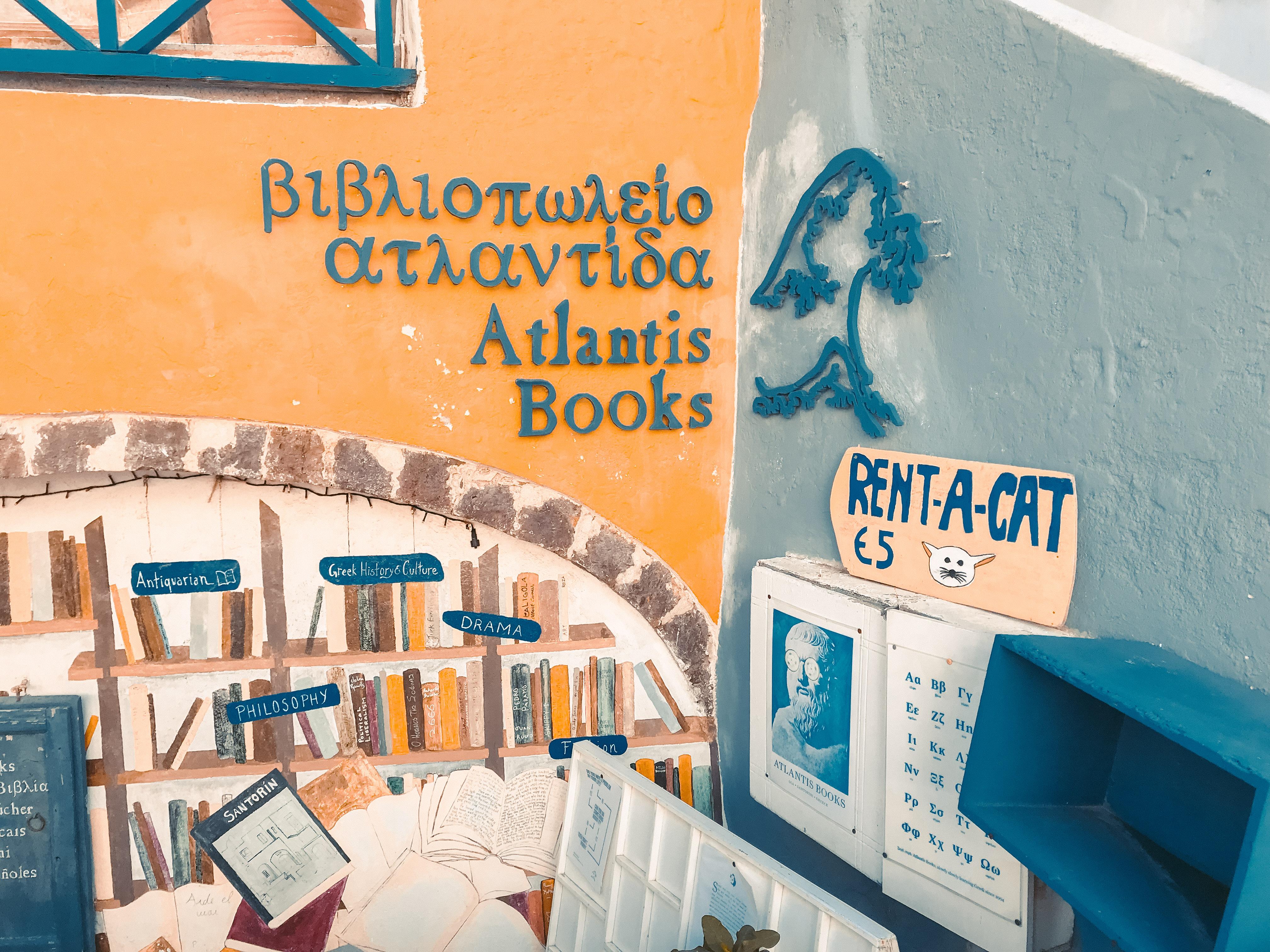 Atlantis Books Oia Venturology Lý Thành Cơ 13