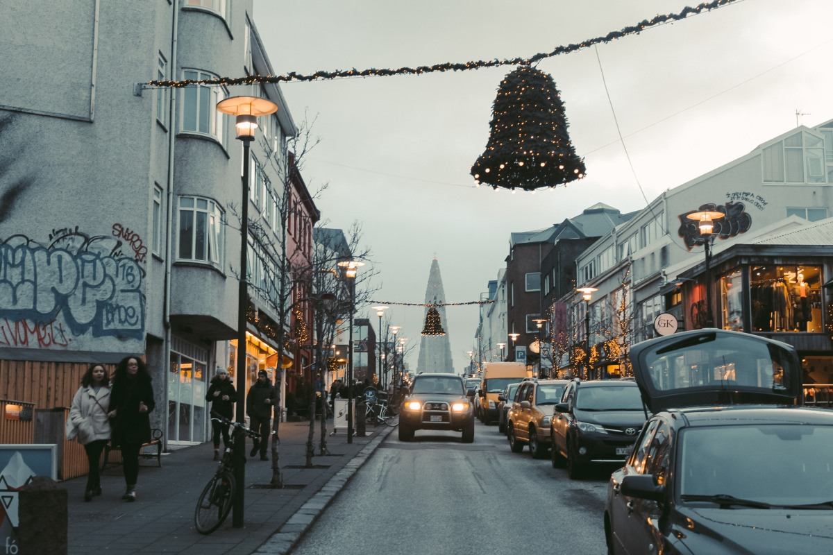 Phố Giáng Sinh Reykjavik Nơi Chân Trời Bắc Cực