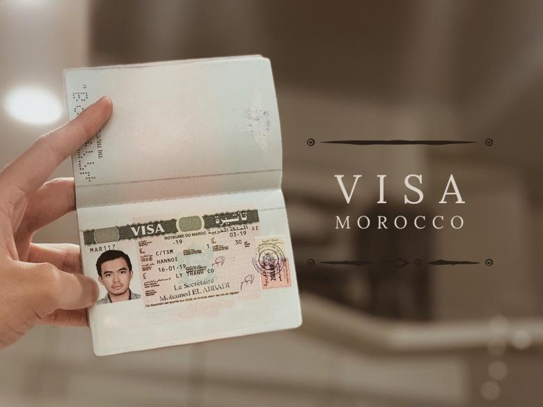 hướng dẫn xin visa ma-rốc (morocco) tự túc lý thành cơ