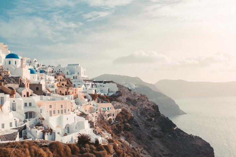 Chân Trời Santorini & Ngôi Làng Oia Bên Vực Biển 1