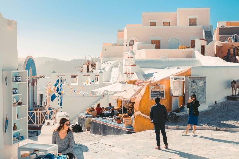 Chân Trời Santorini & Ngôi Làng Oia Bên Vực Biển 4