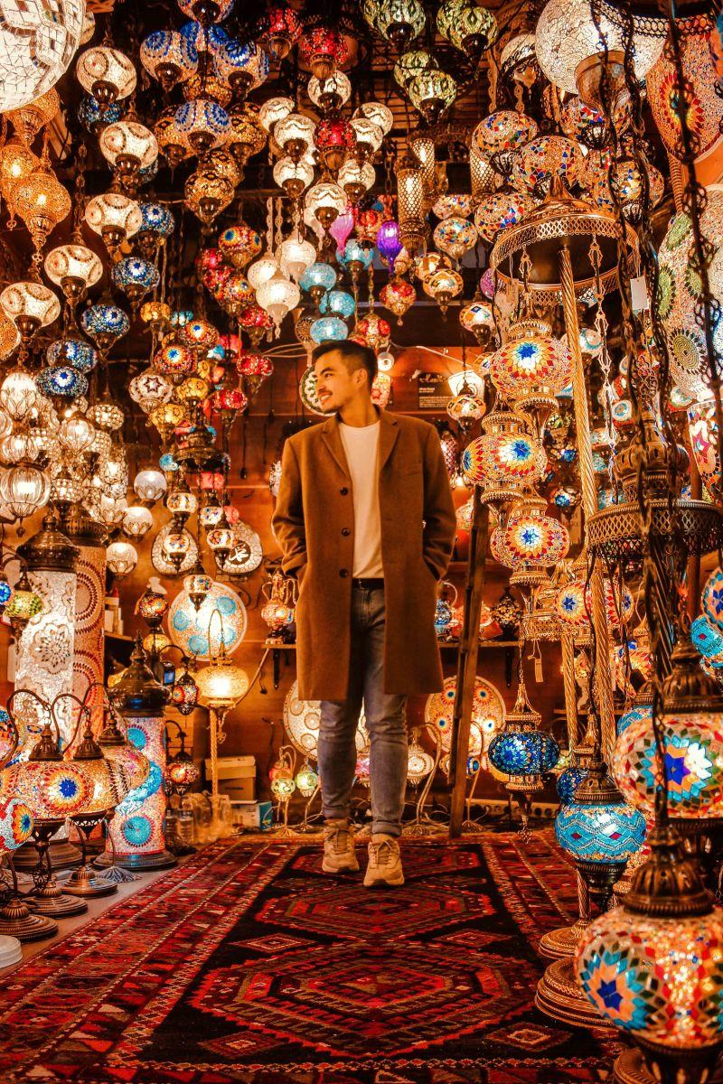 Những Góc Chụp Ảnh Đẹp Nhất Ở Istanbul, Thổ Nhĩ Kỳ Grand Bazaar