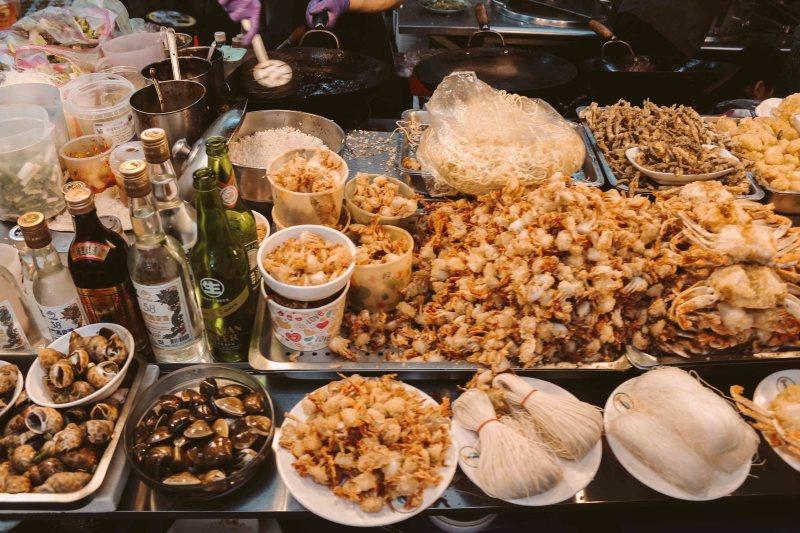 Shilin Night Market Lý Thành Cơ Travel Blog Đồ Chiên