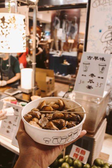 Shilin Night Market Lý Thành Cơ Travel Blog Nấm Nướng 3