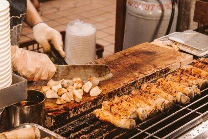 Shilin Night Market Lý Thành Cơ Travel Blog Nấm Nướng